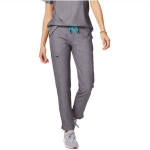 Figs   Yola Graphite Gray Skinny Scrubs Pants M